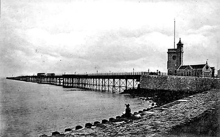 Prince of Wales Pier and Clock Tower