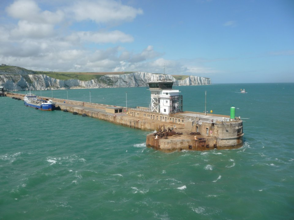 Harbour Eastern Arm and White Cliffs