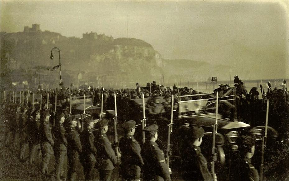 The homecoming of Sir Douglas Haig, Commander of the British Expeditionary Force