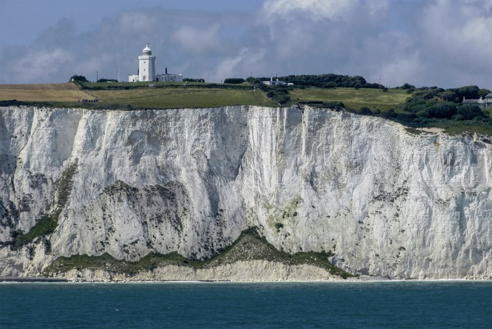 South Foreland Lighthouse on the White Cliffs