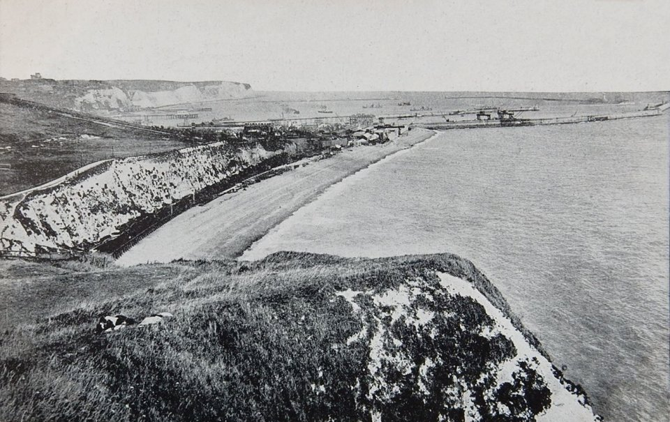 Dover from Shakespeare Cliff