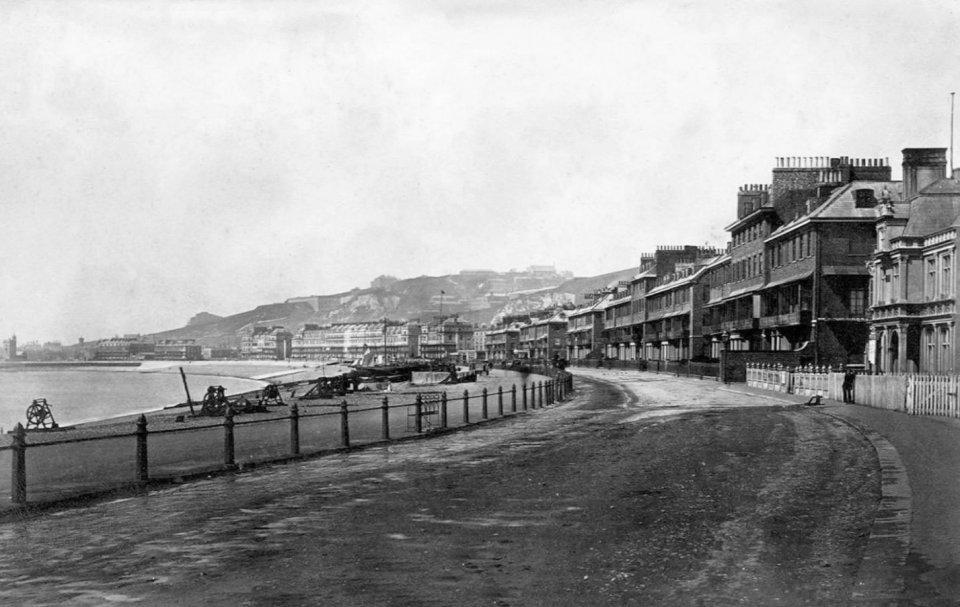 Marine Parade / Dover seafront