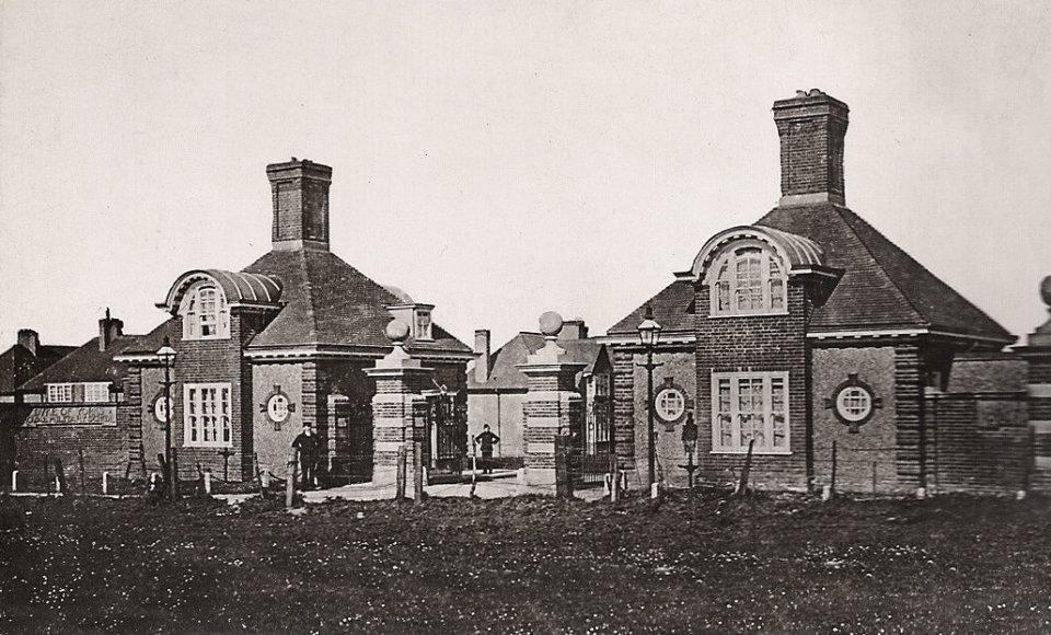 Entrance to Duke of York's Royal Military School