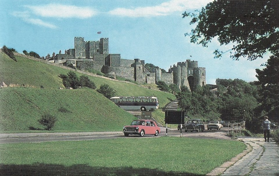 Castle Hill and Dover Castle