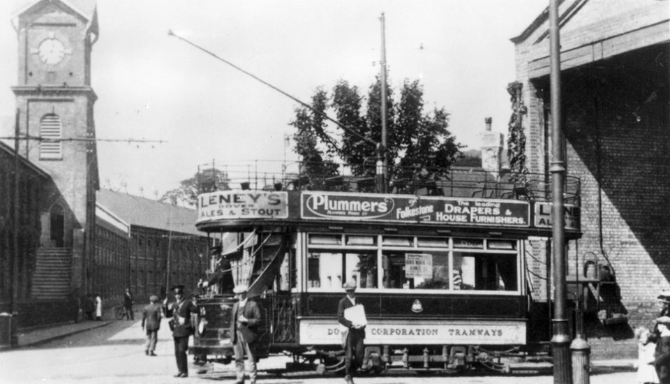 Dover Corporation Tramways, at the Buckland Depot