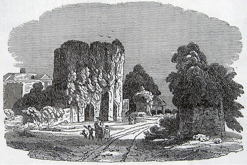 St Radigund's Abbey, 1837