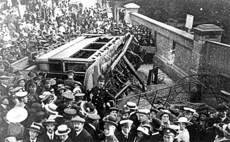 The Crabble tram accident, 19 August 1917