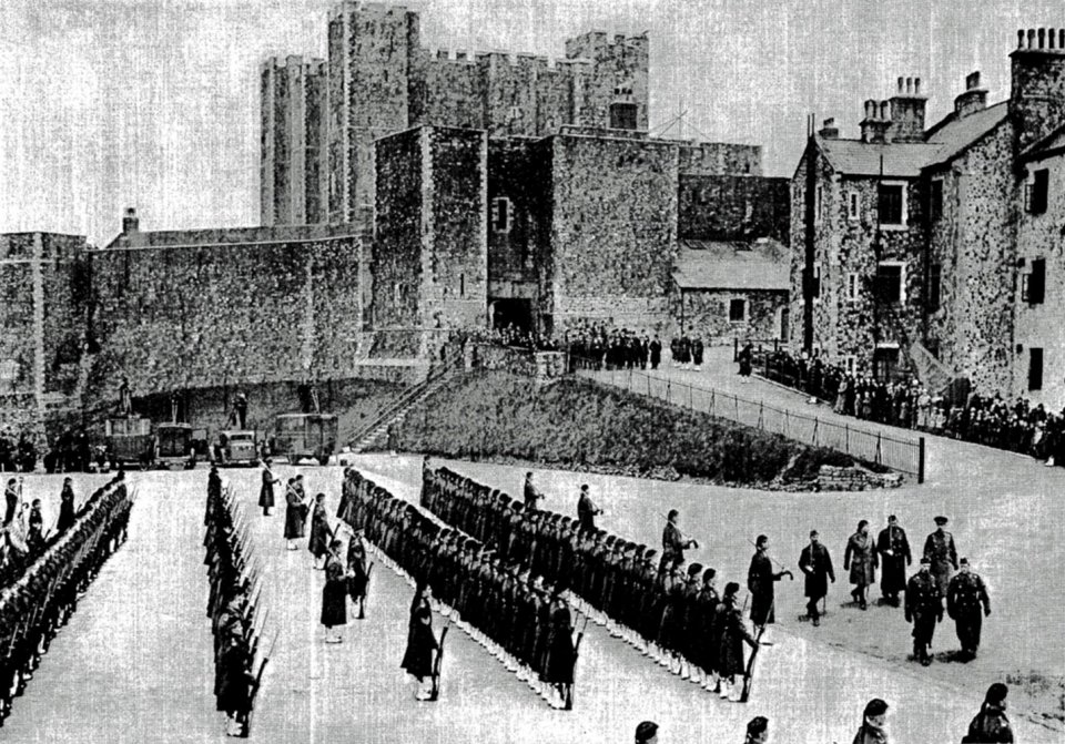 The Prince of Wales at Dover Castle