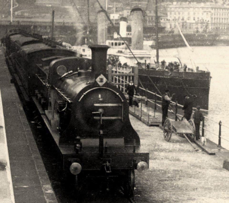 Admiralty Pier railway