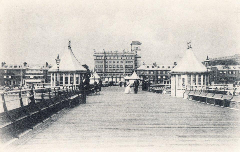 Promenade Pier and Burlington Hotel