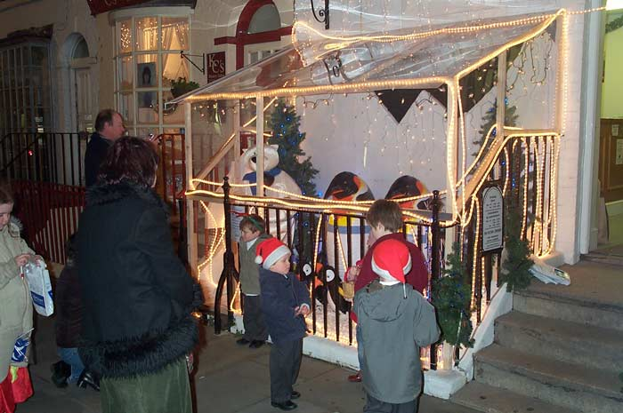 Christmas City Vet.Christmas Lights Switched On At Veterinary Surgery News On