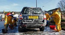 Dover lifesavers soap up the sunshine
