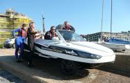 New Record Set For Fastest Channel Crossing In Amphibious Car