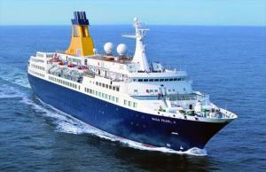 The Saga Pearl II cruise ship