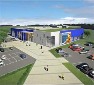 Plans submitted for new £26m leisure centre