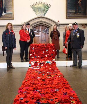 Communities thanked for success of Knitted Poppy Appeal