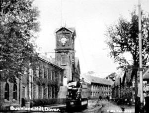 The Buckland Mill clocktower