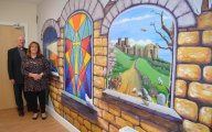 Mural links past and present at Dover church