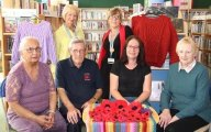 Communities continue to knit together for Knitted Poppy Appeal