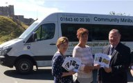 Pilot project for public transport scheme launches in Dover District