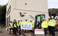 Breaking ground on Kearsney Abbey's £1m café extension