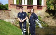 Apprentices take centre stage in Kearsney Parks restoration