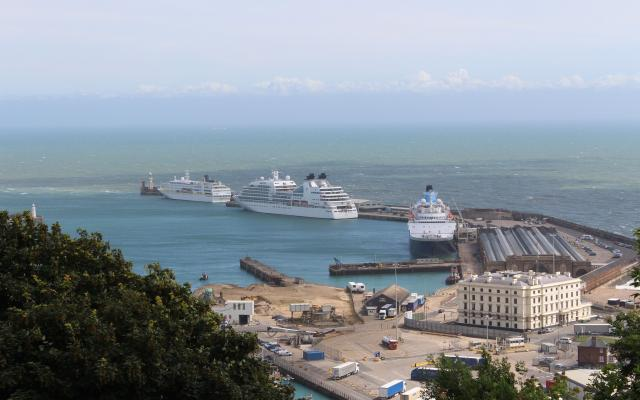 Dover Cruise Port scores a hat-trick