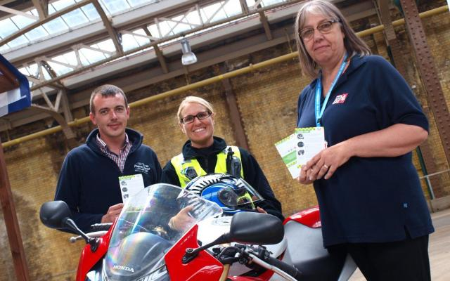 Port kick-starts Kent bike safety drive