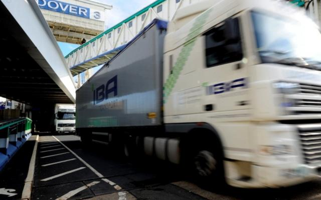 Port of Dover hits all-time freight high