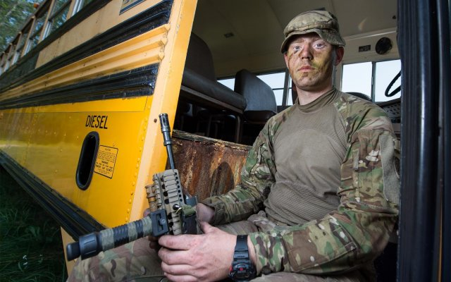 Dover born Army reservist exercises with U.S. counterparts
