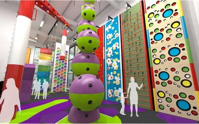 Dover District Leisure Centre reaches new heights with clip 'n climb