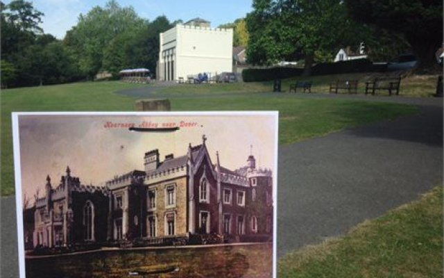 Project gets digging to uncover history of Kearsney Abbey