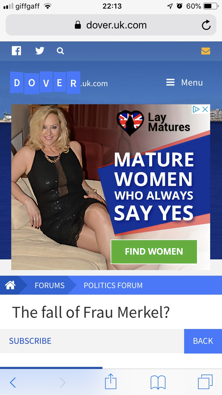mature post frau